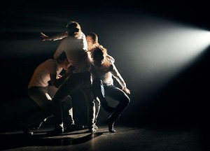 Hofesh Shechter Co. - 'the barbarians in love', photo by Jake Walters.