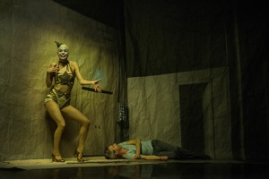 Kidd Pivot. Tiffany Tregarthen and Jonathon Young in Betroffenheit. Photo by Wendy D Photography.